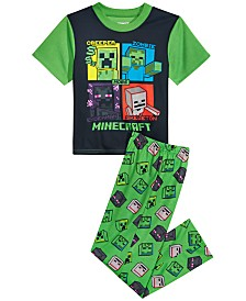 Minecraft Little & Big Boys 2-Pc. Minecraft Pajama Set