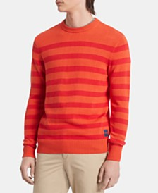 Calvin Klein Men's Stripe Sweater