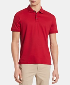 Calvin Klein Men's Big & Tall Liquid Touch Regular-Fit Polo Shirt