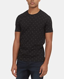 Kenneth Cole New York Men's Square-Print T-Shirt
