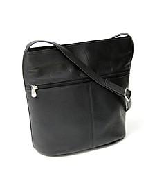 Royce Lightweight Shoulder Bag in Colombian Genuine Leather