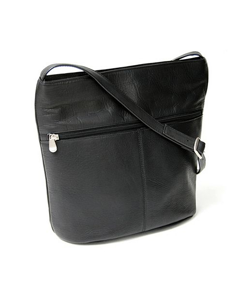 Royce Leather Royce Lightweight Shoulder Bag in Colombian Genuine Leather