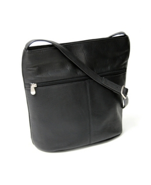 Image of Royce Lightweight Shoulder Bag in Colombian Genuine Leather