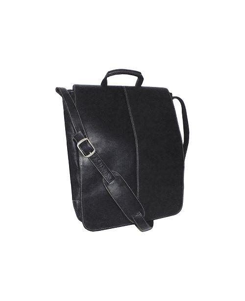 """Royce Leather Royce 17"""" Laptop Messenger Bag in Colombian Genuine Leather"""