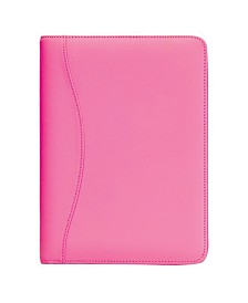 Royce Compact Writing Portfolio Organizer in Genuine Leather