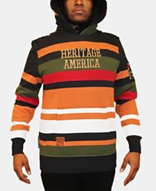 Heritage America Men's Stripe Hoodie