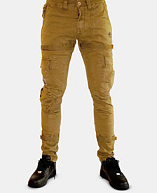 Heritage America Men's Slim-Fit Stay-Put Cargo Pants