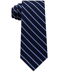 Tommy Hilfiger Men's Exotic Stripes Silk Tie
