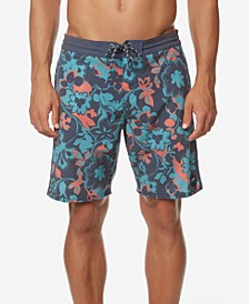 "Men's Printed 19"" Board Shorts"