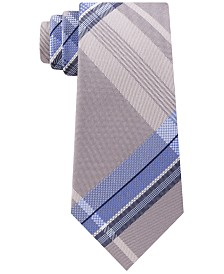 Kenneth Cole Reaction Men's Kenny Plaid Slim Tie