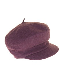 Bryce Merino Wool Newsboy Hat