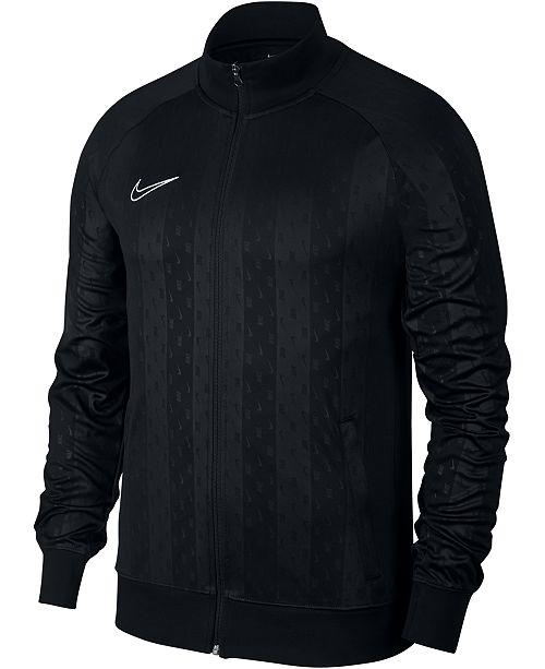 6c35286490cb6d Nike Men's Dri-FIT Academy Jacquard Track Jacket & Reviews - Coats ...