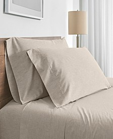 FlatIron Fiber Dyed Queen Sheet Set, 100% Cotton