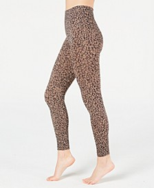 Women's Cropped Printed Seamless Leggings