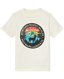 Polo Ralph Lauren Little Boys Graphic Cotton T-Shirt