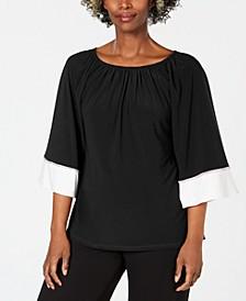 Embellished Off-The-Shoulder Top