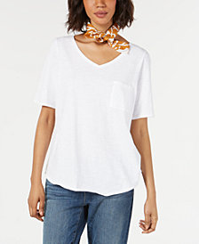 Eileen Fisher Organic Cotton Printed Bandana