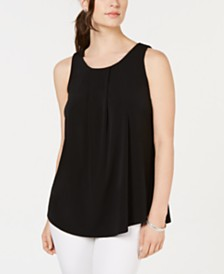 Charter Club Petite Sleeveless Knit Top, Created for Macy's