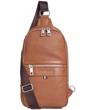 Tommy Hilfiger Men's Leo Sling Backpack