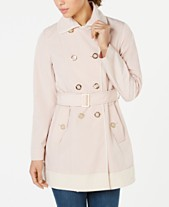 5a0e6cfbf Laundry by Shelli Segal Double-Breasted Trench Coat