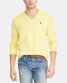 Polo Ralph Lauren Men's Cotton V-Neck Sweater