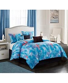 Abella 7-Piece King Comforter Set