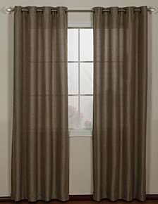 Lancer Grommet Single Curtain Panel, Gold, 54 x 63""
