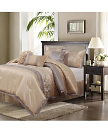 Riley 7-Piece Queen Comforter Set