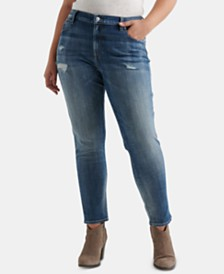 Lucky Brand Plus Size Reese Boyfriend Jeans