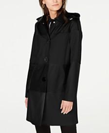 kate spade new york Colorblocked Raincoat