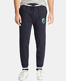 Polo Ralph Lauren Men's Big & Tall Double-Knit Graphic Jogger Pants