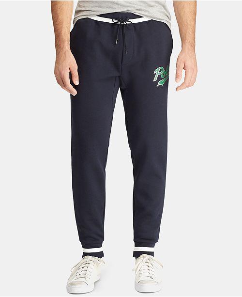 ee1a1a1b0ec Polo Ralph Lauren Men s Big   Tall Double-Knit Graphic Jogger Pants ...