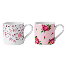Royal Albert New Country Roses Set/2 Tea Party Mug