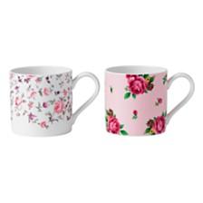 Royal Albert New Country Roses Set/2 Tea Party Mug