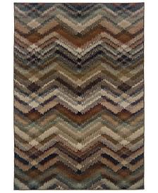 "CLOSEOUT! Oriental Weavers  Adrienne 4205C Multi/Beige 7'10"" x 10'10"" Area Rug"