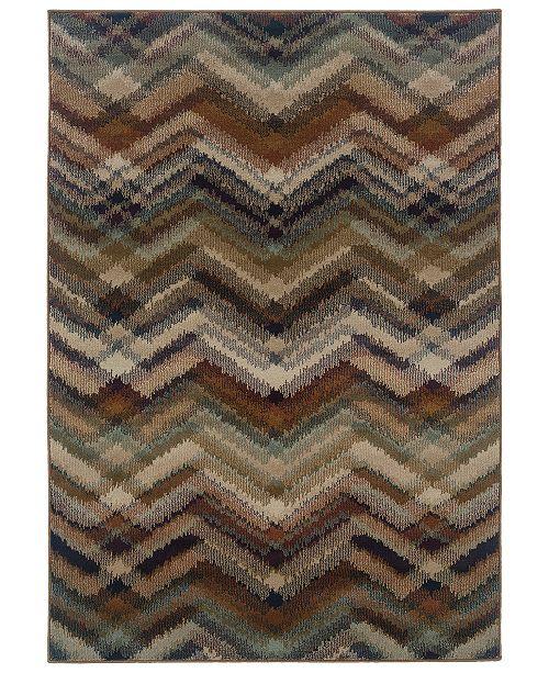 "Oriental Weavers CLOSEOUT!  Adrienne 4205C Multi/Beige 9'10"" x 12'9"" Area Rug"