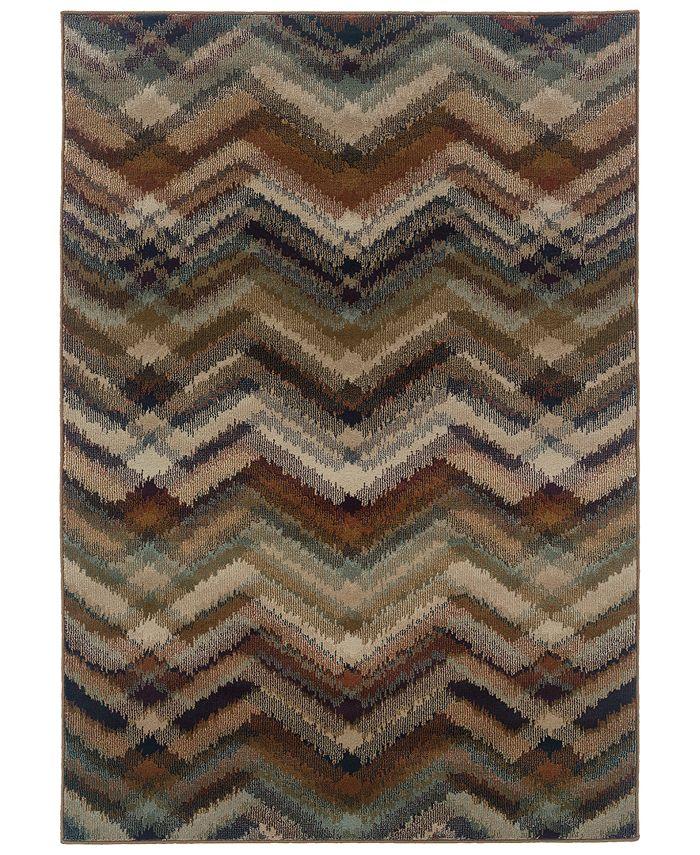 """Oriental Weavers - Adrienne 4205C Multi/Beige 7'10"""" x 10'10"""" Area Rug"""