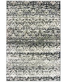 "Oriental Weavers Bowen 042H2 Gray/Ivory 2'3"" x 7'6"" Runner Area Rug"