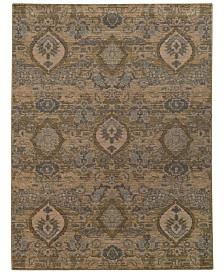 "Oriental Weavers Heritage 4925W Ivory/Blue 7'10"" x 10'10"" Area Rug"