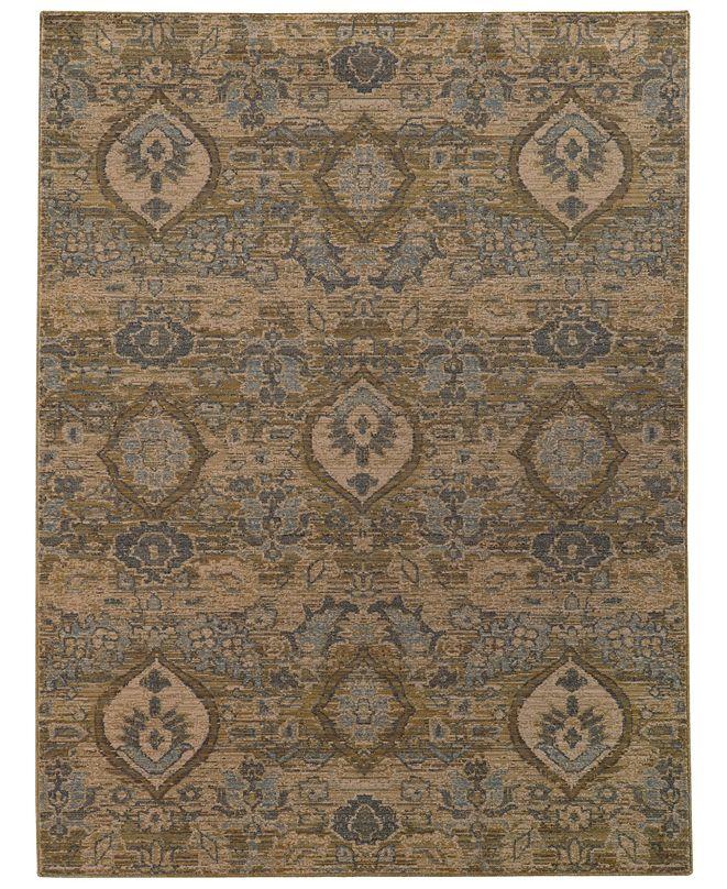 "Oriental Weavers Heritage 4925W Ivory/Blue 9'10"" x 12'10"" Area Rug"