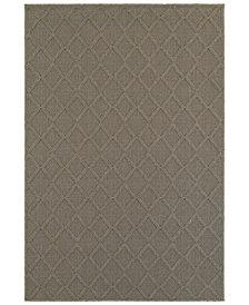 """Oriental Weavers Santa Rosa 2331Y Gray/Gray 9'10"""" x 12'10"""" Indoor/Outdoor Area Rug"""