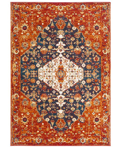 Surya Serapi SRP-1020 Dark Red 2' x 3' Area Rug