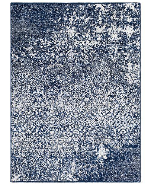 "Surya Seville SEV-2301 Dark Blue 5'3"" x 7'3"" Area Rug"