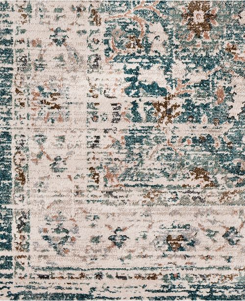 """Surya Soft Touch SFT-2305 Teal 18"""" Square Swatch"""