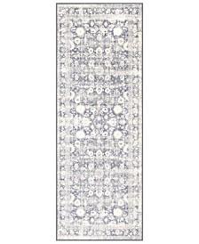 """Surya Silk Road SKR-2312 Medium Gray 2'7"""" x 7'3"""" Runner Area Rug"""