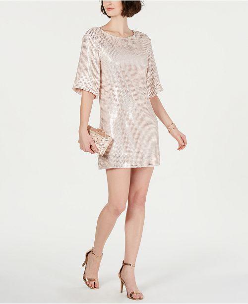 cb2d5d090c Laundry by Shelli Segal Sequined Sheath Dress   Reviews - Dresses ...