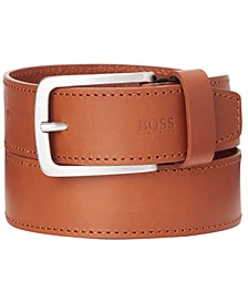 HUGO Men's Jor Casual Leather Belt