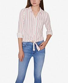 Hayley Tie-Front Shirt