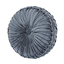 J Queen Crystal Palace Tufted Round Decorative Pillow