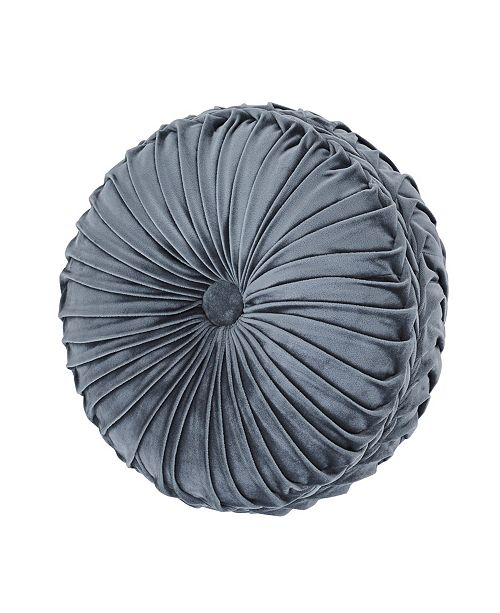 J Queen New York J Queen Crystal Palace Tufted Round Decorative Pillow